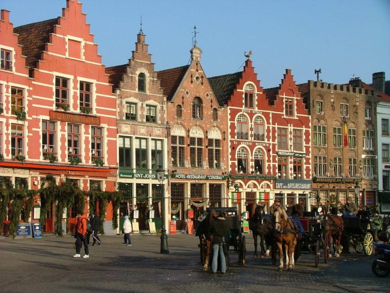 Markt quartiere tradizionale Bruxelles
