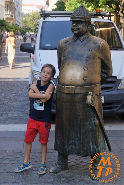 The Fat Policeman Statue