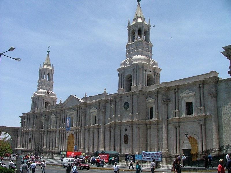 Arequipa, Plaza de Armas - Perù