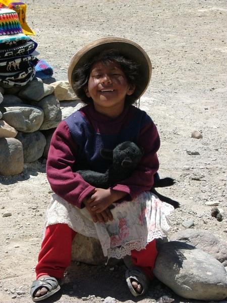 Campesinos sulle Ande, Peru
