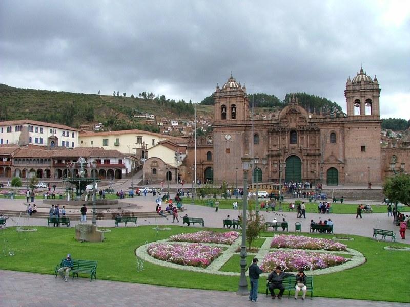 La Cattedrale in Plaza de Armas, Cuzco