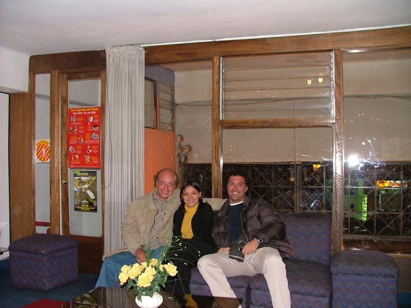 Ultima sera all' Hotel Cristina di Cuzco