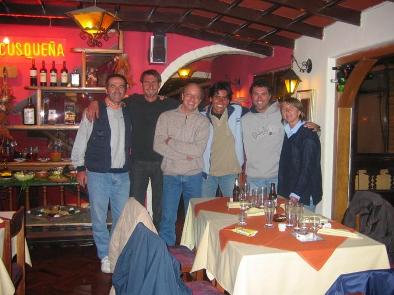 Cena dell'arrivederci alla Meson de Espaderos di Cuzco - Perù