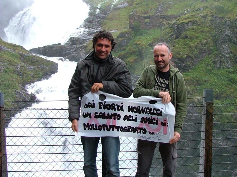 Paolo e Davide in Norvegia