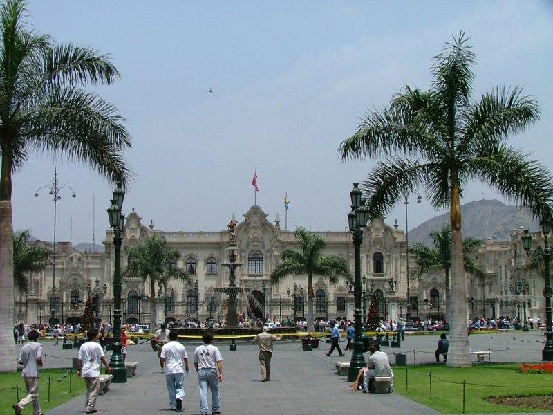 Palazzo del Governo -Lima