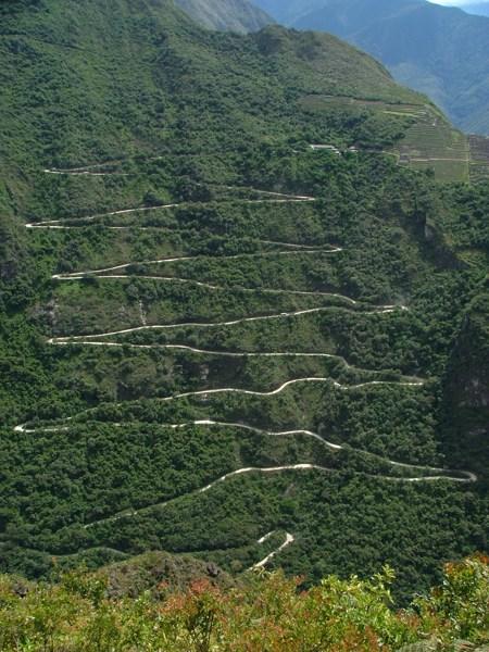 Sentiero da Aguas Caliente a Machu Picchu
