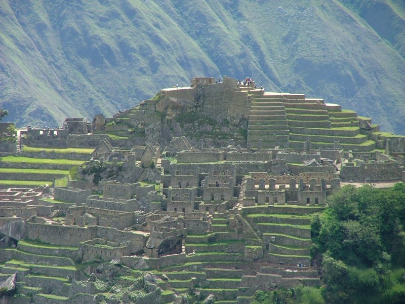 Di fronte a noi il Machu Picchu