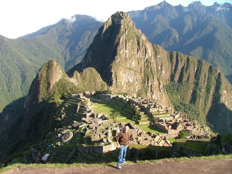 Fabio al Machu Picchu