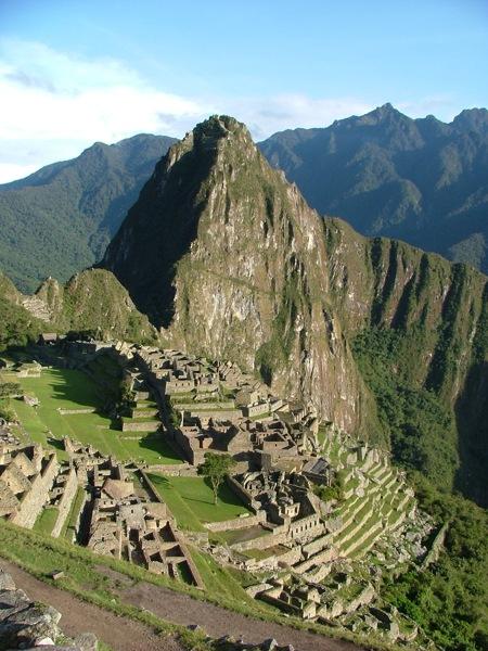 Machu Picchu e Huana Picchu