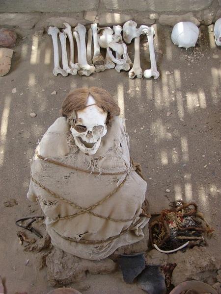 Cimitero di Chauchilla - Nazca - Perù