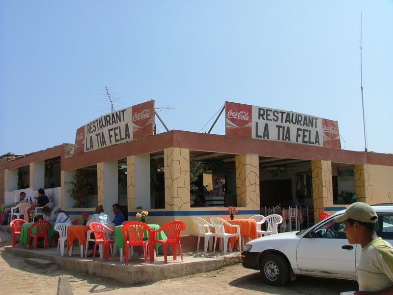 Chiosco La Tia Fela migliore Cevice de pescado del Perù