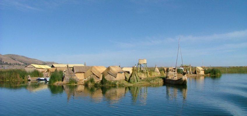 Islas Flotantes degli Uros, Lago Titicaca
