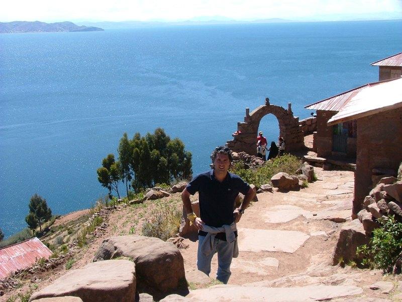 Paolo, Isola di Taquile, Lago Titicaca, Peru